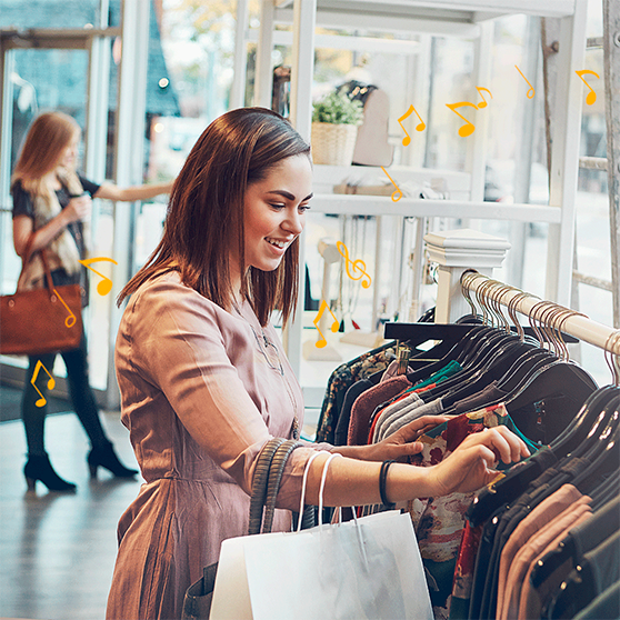 Set the right mood for your customers through retail radio