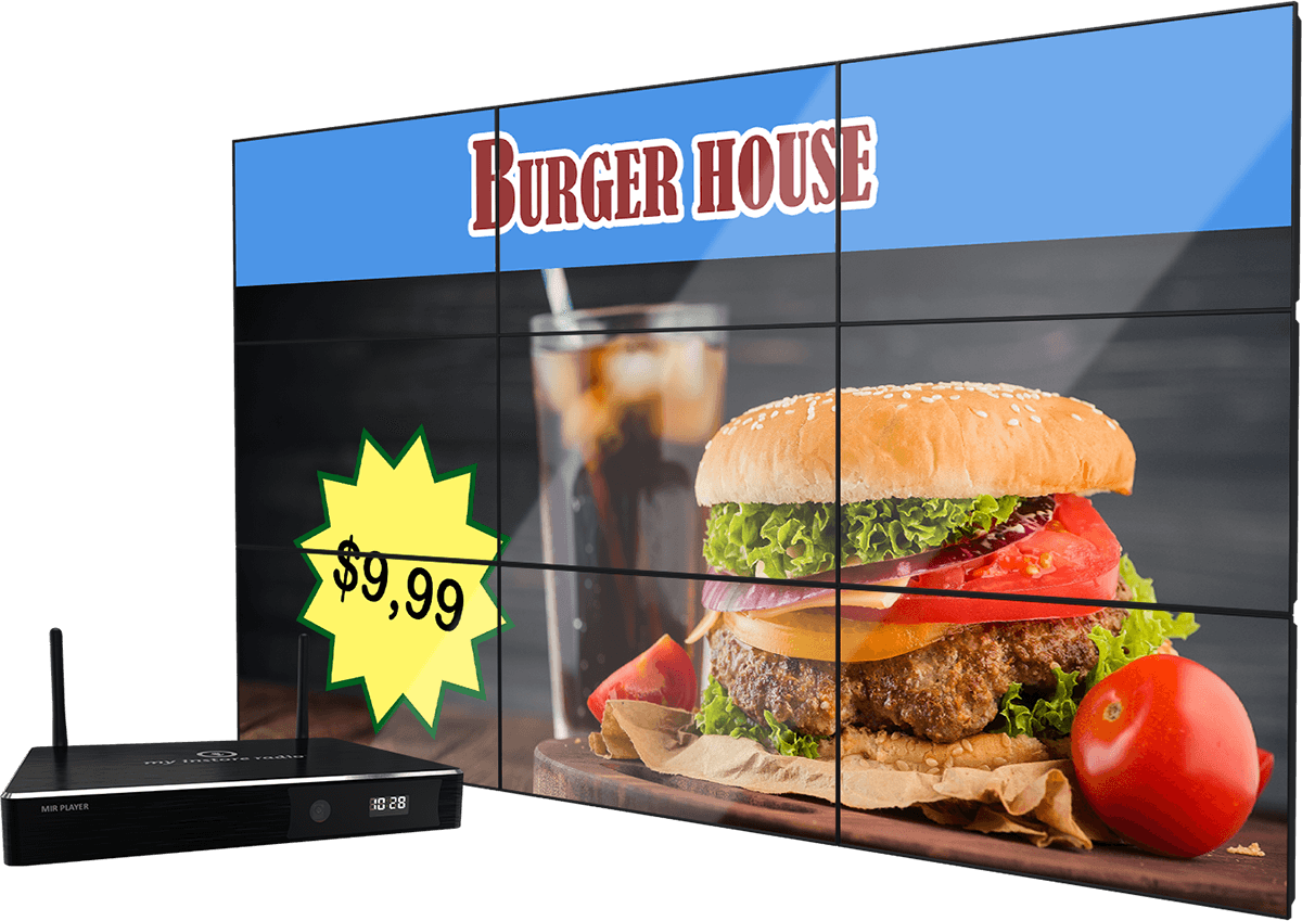 Digital Signage, Digital Video Walls